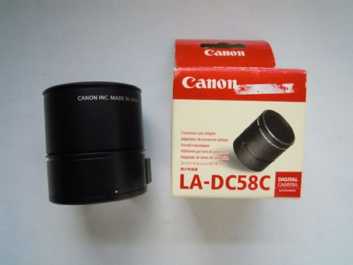 Canon LA-DC58C Conversion Lens Adapter